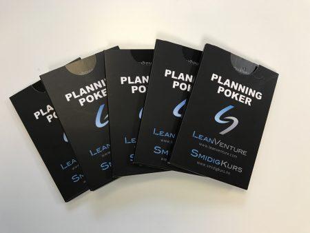 Planning Poker kort
